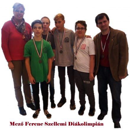 Mező Ferenc Szellemi Diákolimpián