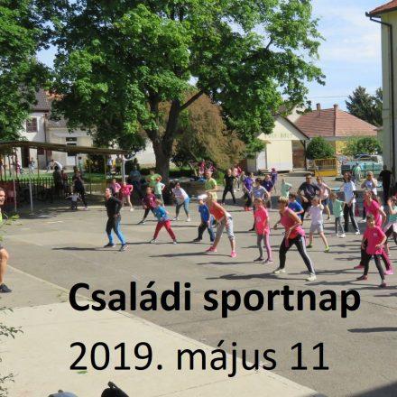 Családi sportnap 2019 május 11